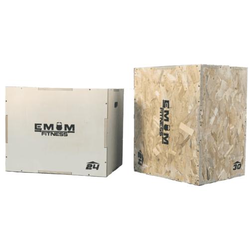 Plyo Box - Sprungbox mit 3 verschiedenen Höhen - 3 in 1 15