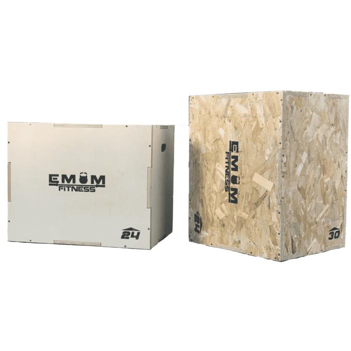 Plyo Box - Sprungbox mit 3 verschiedenen Höhen - 3 in 1 8