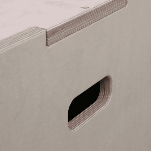 Plyo Box - Sprungbox mit 3 verschiedenen Höhen - 3 in 1 10