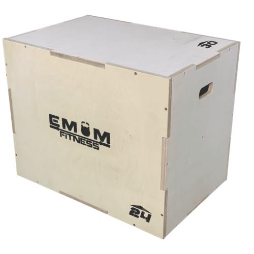 Plyo Box - Sprungbox mit 3 verschiedenen Höhen - 3 in 1 13