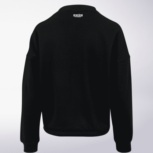 White - Wod the Fuck Damen Oversized Sweater - Schwarz 5