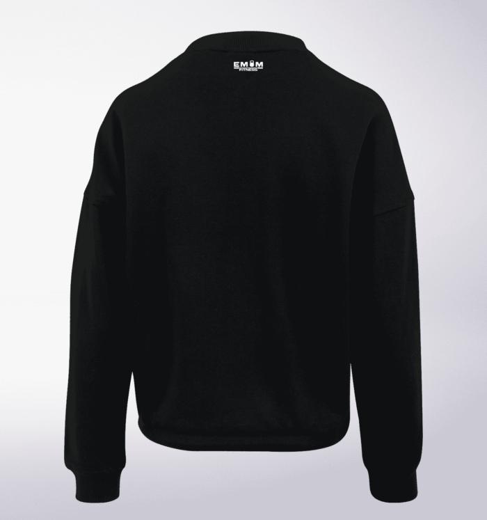 White - Wod the Fuck Damen Oversized Sweater - Schwarz 3