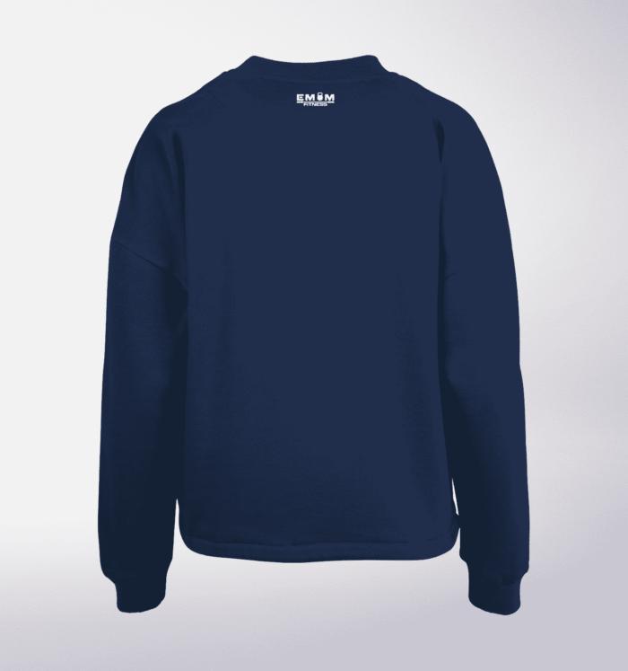 White - Mind/Made Damen Oversized Sweater - Light Navy 2