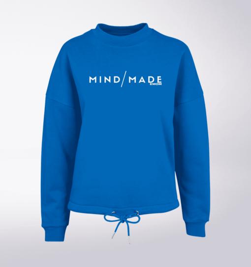 White - Mind/Made Damen Oversized Sweater - Blau 1