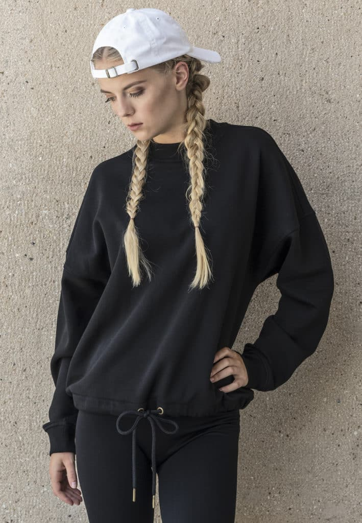 Black - Mind/Made Damen Oversized Sweater - Hellgrau 6