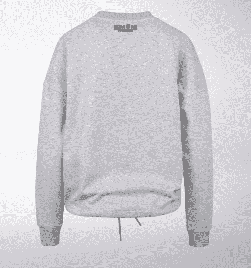 Black - Mind/Made Damen Oversized Sweater - Hellgrau 2