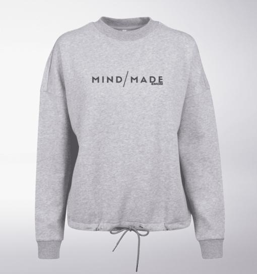Black - Mind/Made Damen Oversized Sweater - Hellgrau 1