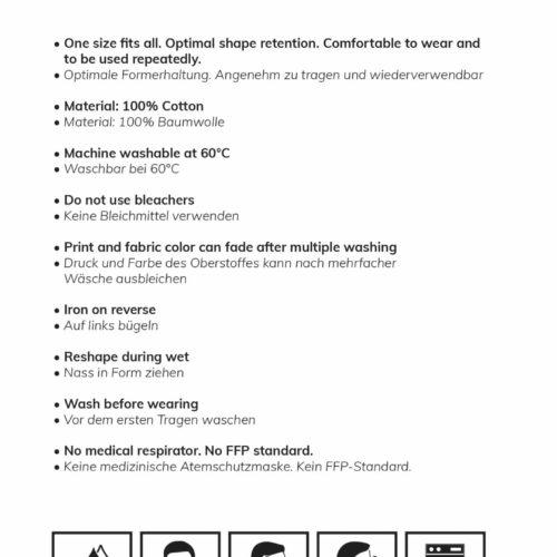 EMOM Fitness® Alltagsmaske (Mund- und Nasenschutz) unisex 9