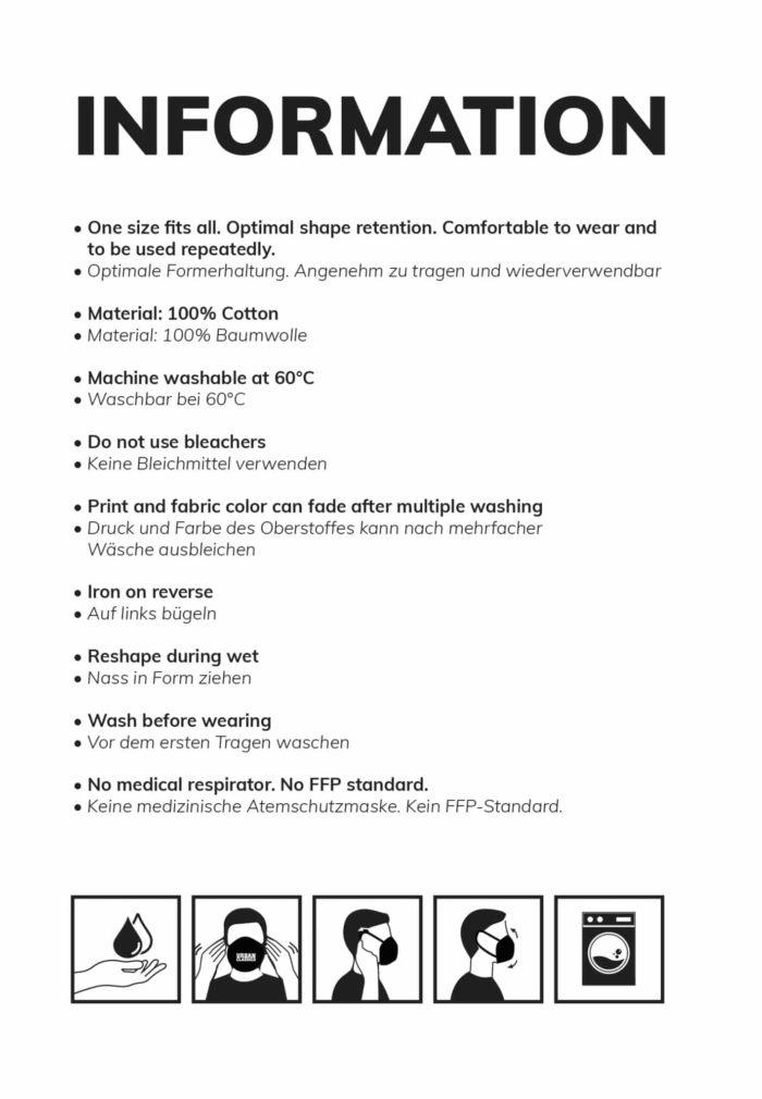 EMOM Fitness® Alltagsmaske (Mund- und Nasenschutz) unisex 5
