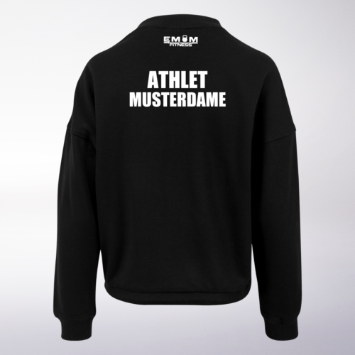 Team COUCH Athleten Oversized Sweater - Damen 9