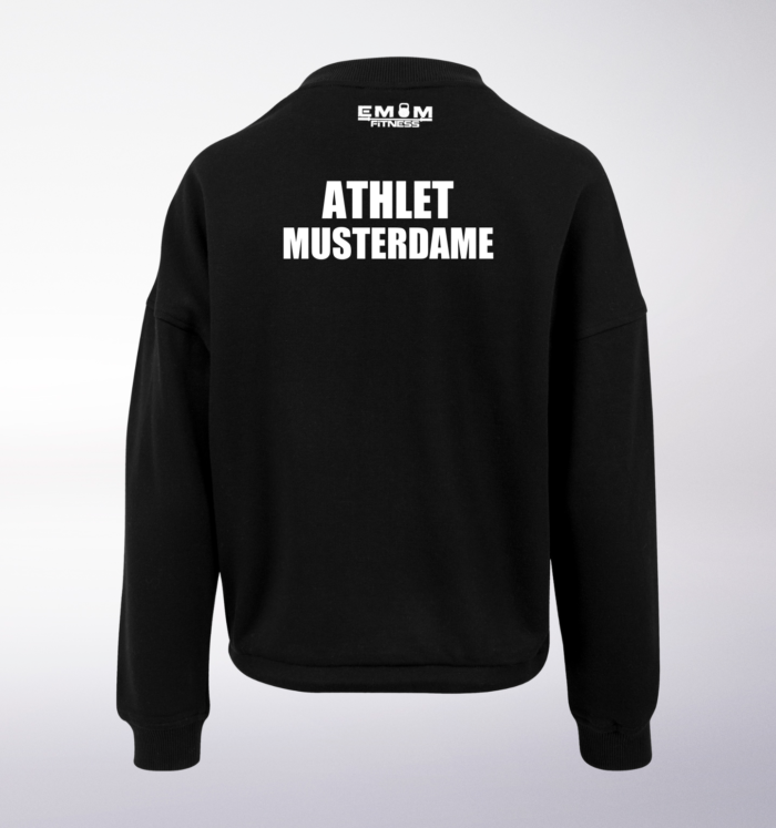 Team COUCH Athleten Oversized Sweater - Damen 5