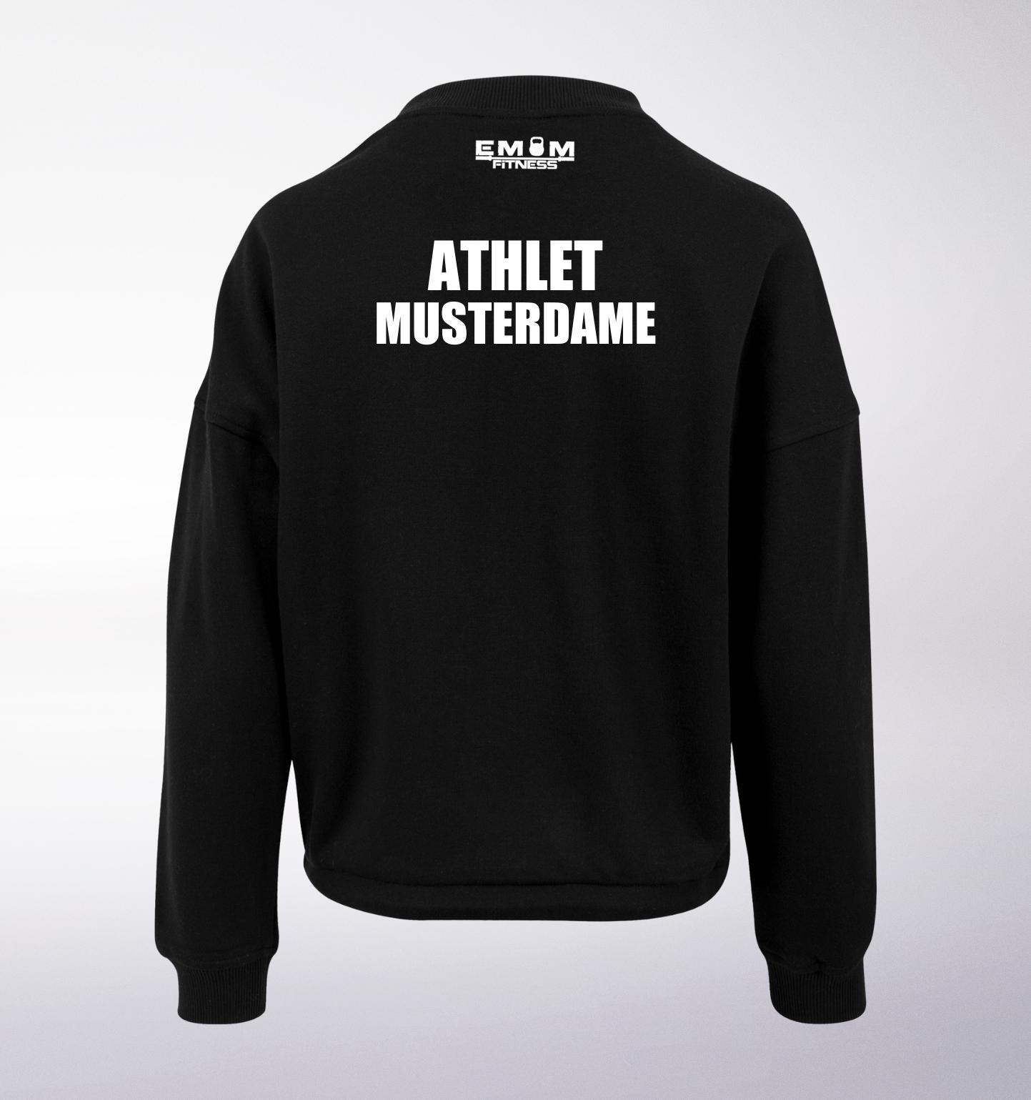 Team COUCH Athleten Oversized Sweater - Damen 14