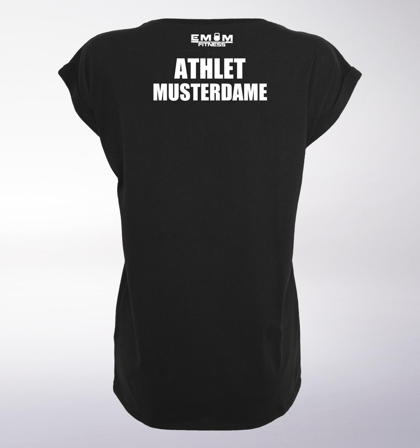 Team COUCH Athleten Extend Shoulder T-Shirt - Damen 14