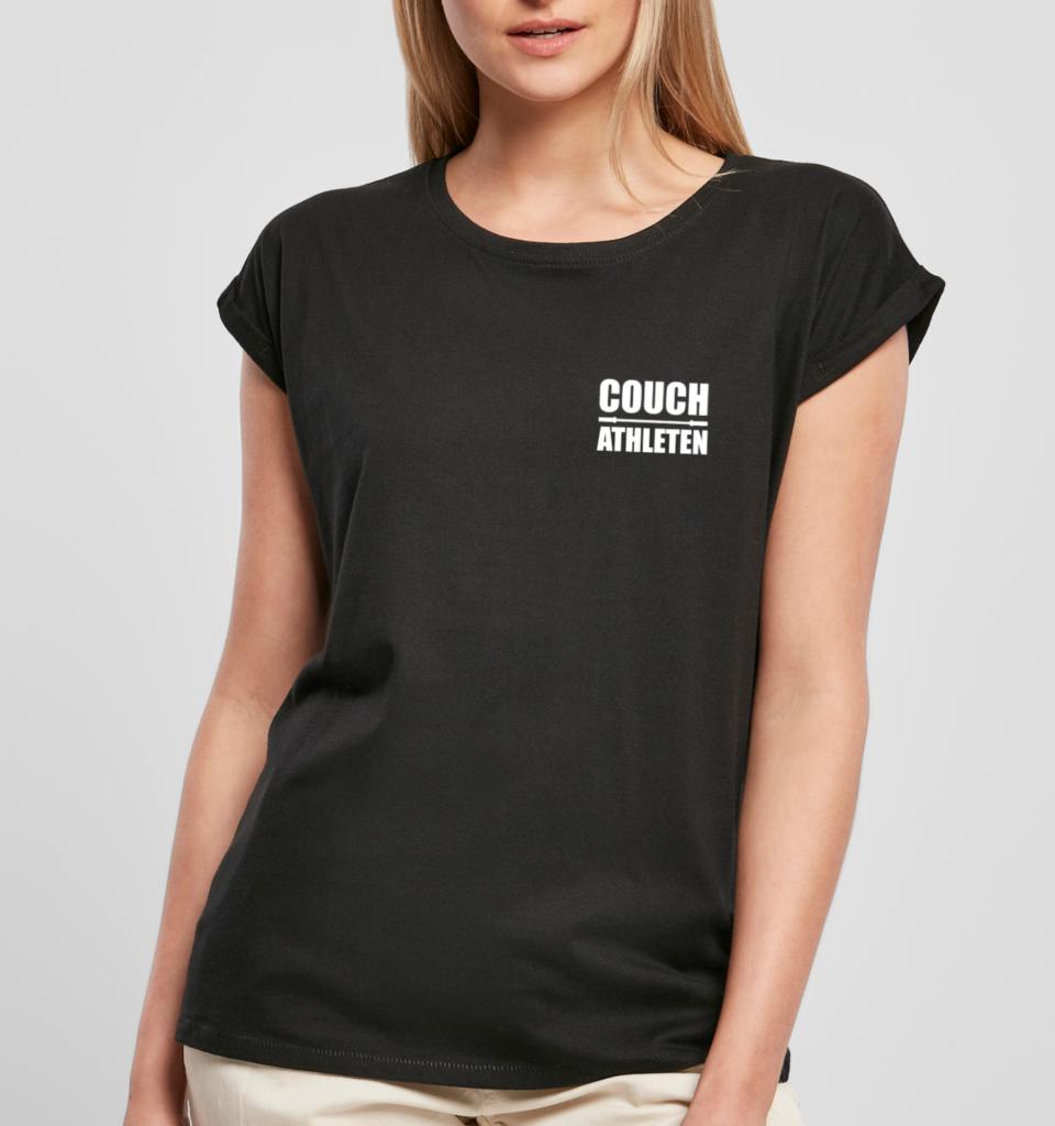 Team COUCH Athleten Extend Shoulder T-Shirt - Damen 11