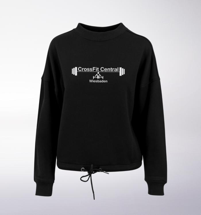 CrossFit® Central Wiesbaden Oversized Sweater - Damen 3