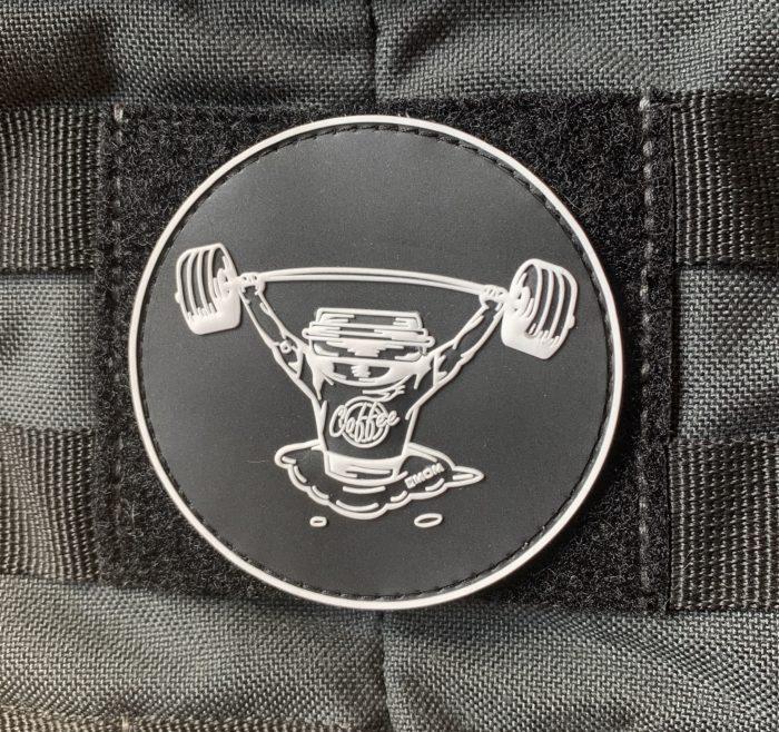 Barbell Coffee - Patch für deinen Plate Carrier / Gewichtsweste 1