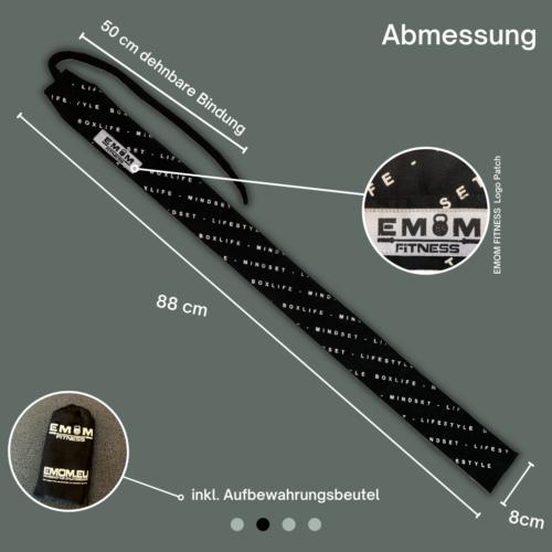 EMOM Fitness® - Wrist Wraps Boxlife - Lifestyle - Mindmade Handgelenkbandagen 4