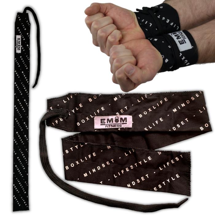 EMOM Fitness® - Wrist Wraps Boxlife - Lifestyle - Mindmade Handgelenkbandagen 2